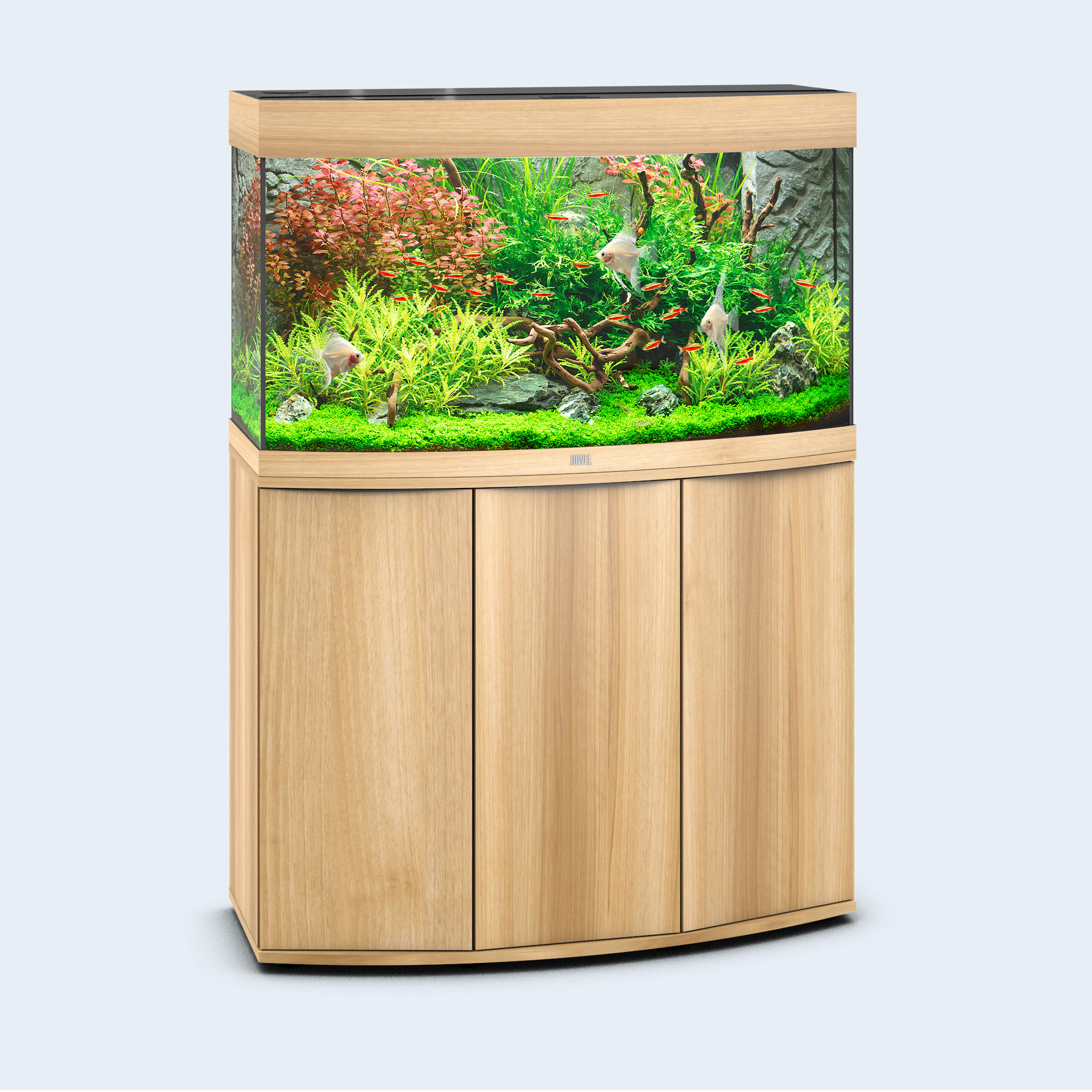 juwel aquarium rio 180 led aquarium dunkles holz bunte. Black Bedroom Furniture Sets. Home Design Ideas